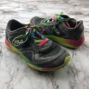 FILA Rainbow Mulitcolor Grey Sneaker Gym Shoes 13